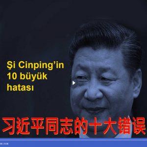 Şi Cinping'in 10 büyük hatası